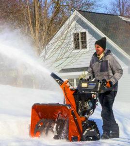 техническое обслуживание и ремонт снегоуборщиков