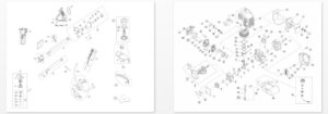 Деталировка-мотокосы-AL-KO-BC-4125-II-S-Comfort