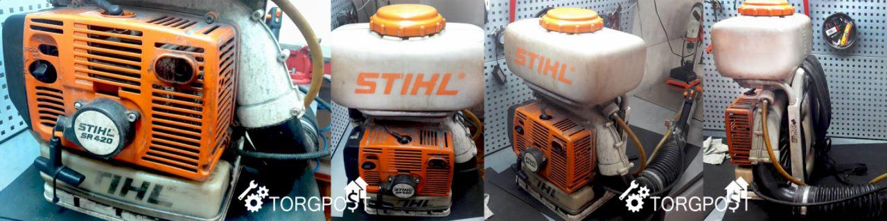 remont-motooprys…lya-stihl-sr-420